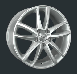Диск колесный LS Replay A57 7.5xR17 5x112 ET45 ЦО66.6 серебристый с полированной лицевой частью S028272
