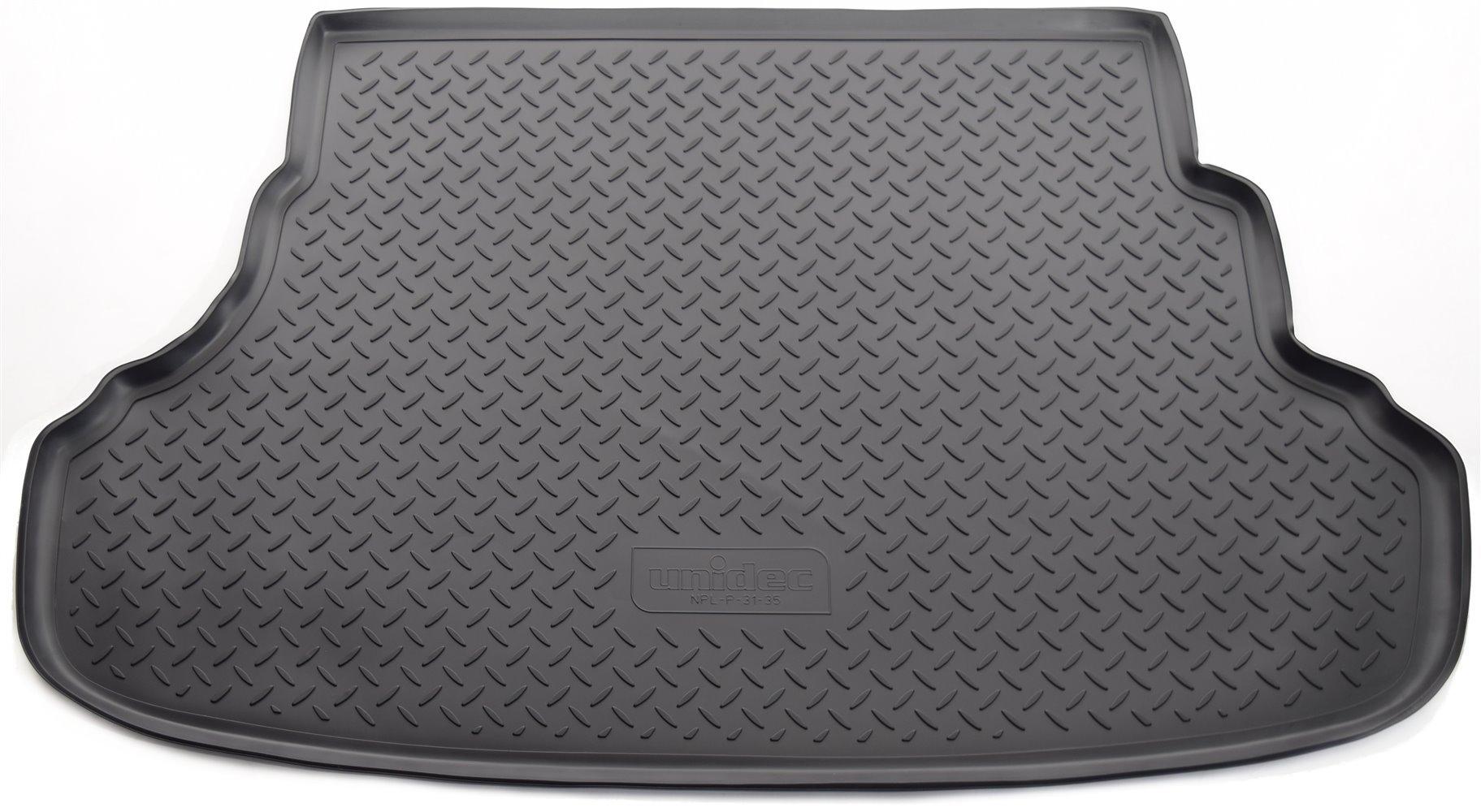 Коврик багажного отсека, 5 мест, резиновый для Санта Фе 4 (Hyundai Santa Fe) 2018 - 2019 недорого