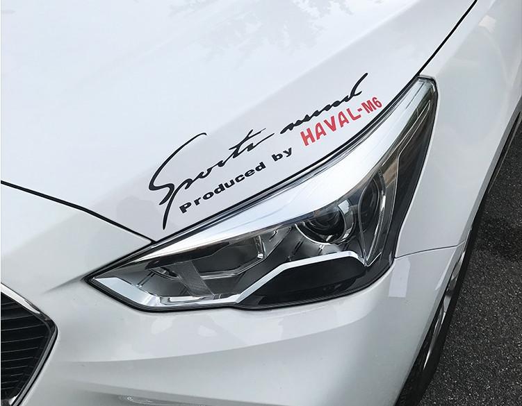 Наклейки Haval M6 / Sport для (2018 - 2019)