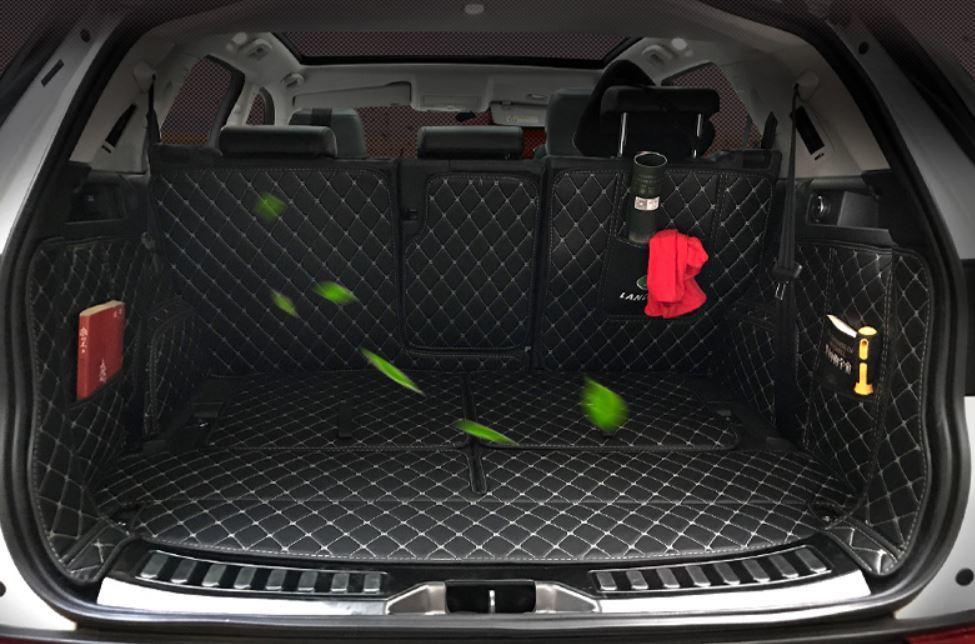 Коврики в багажник кожаные для Land Rover Range Rover Evoque 2015 - защита картера и кпп алюминиевая rival для land rover range rover evoque 2011