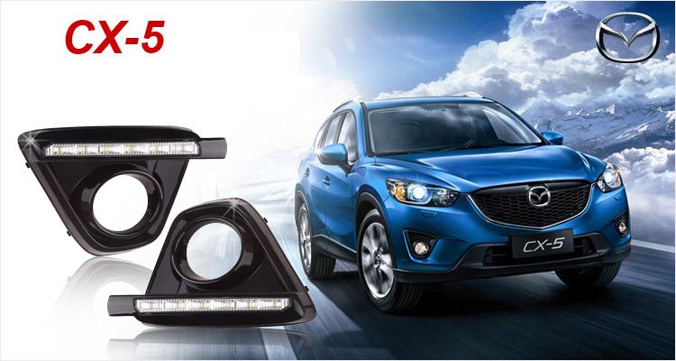 Дневные ходовые огни (ДХО) FLAG для Mazda CX-5 2011-2015 дневные ходовые огни дхо для volkswagen tiguan 2017