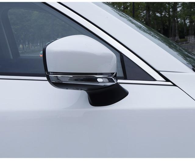 Хромированные накладки на нижнюю часть боковых зеркал CHN для Mazda CX-5 2017 - хромированные накладки на нижнюю часть боковых зеркал chn для mazda cx 5 2017