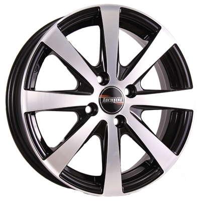 Диск колесный Tech-Line 634 6xR16 5x114,3 ET45 ЦО60,1 черный с полированной лицевой частью rd831021