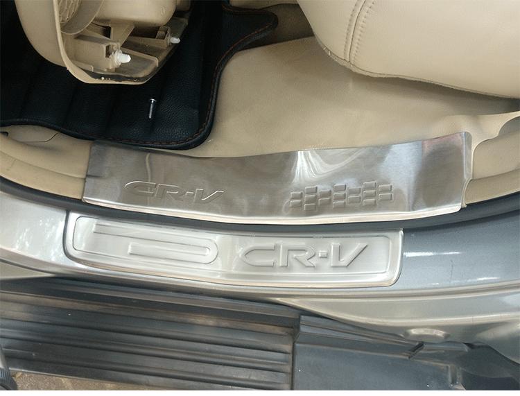 Накладки на пороги Sport Style side skrit для Honda CRV 2007-2011