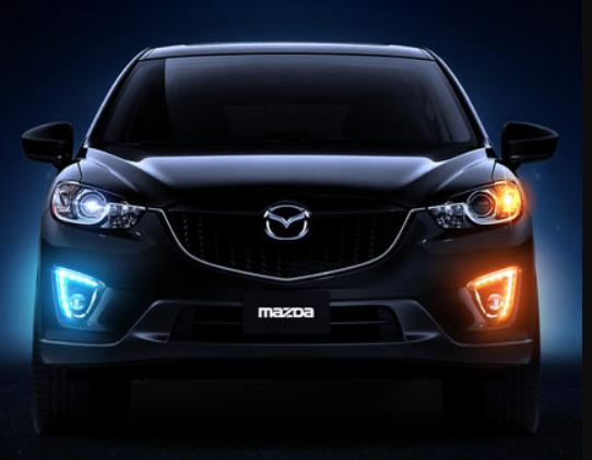 Дневные ходовые огни (ДХО) YADU для Mazda CX-5 2011-2015 дневные ходовые огни дхо для volkswagen tiguan 2017