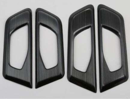 Накладки на дверные ручки (черные) Honda CRV 2020-