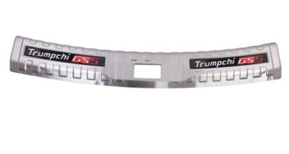 Накладка на порог багажника внешняя (хром) для GAC Trumpchi GS5 2020- накладка на порог багажника внешняя для gac trumpchi gs5 2020