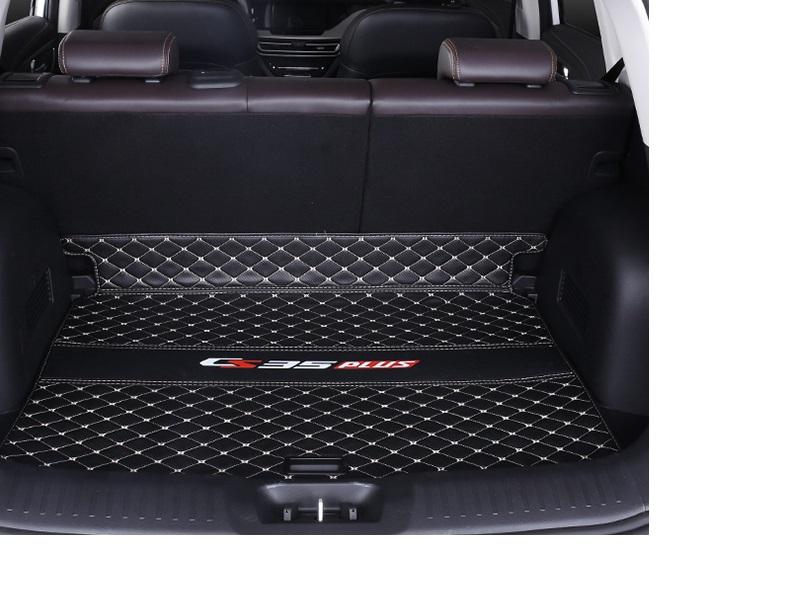 Фото - Коврик для багажника 1 элемент для Changan CS35 Plus 2019- коврик для багажника черный с красным 2 элемента для changan cs35 plus 2019