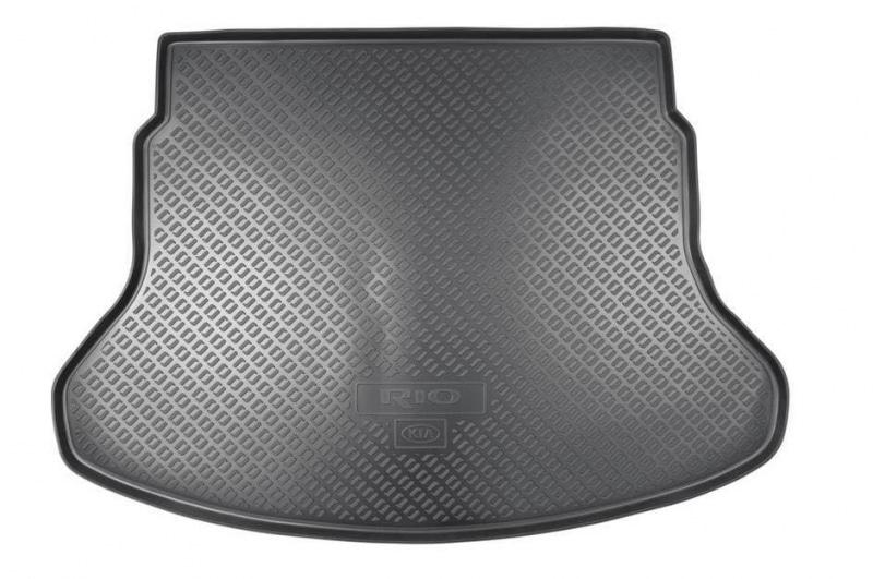 Коврик багажника Hyundai/KIA пластик черный R8570H0200 KIA Rio 2017-