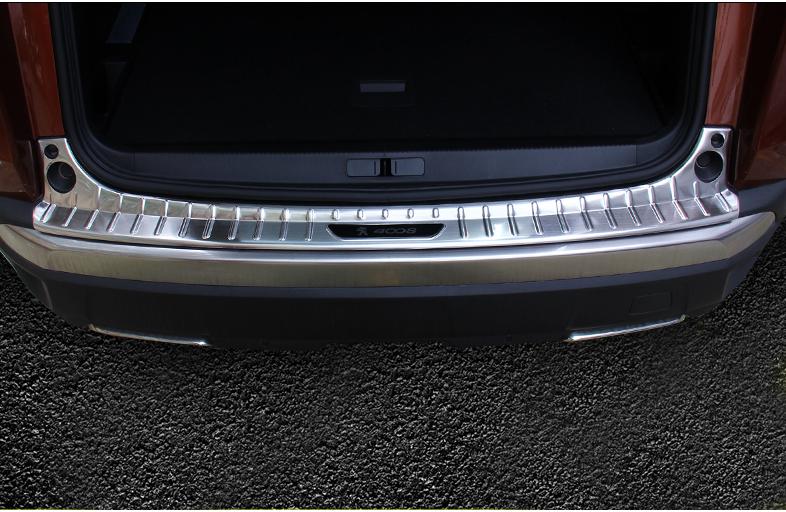 Защитная накладка на задний бампер CHN для Peugeot 3008 2017 - защитная наклейка на задний бампер chn для kia rio 2017