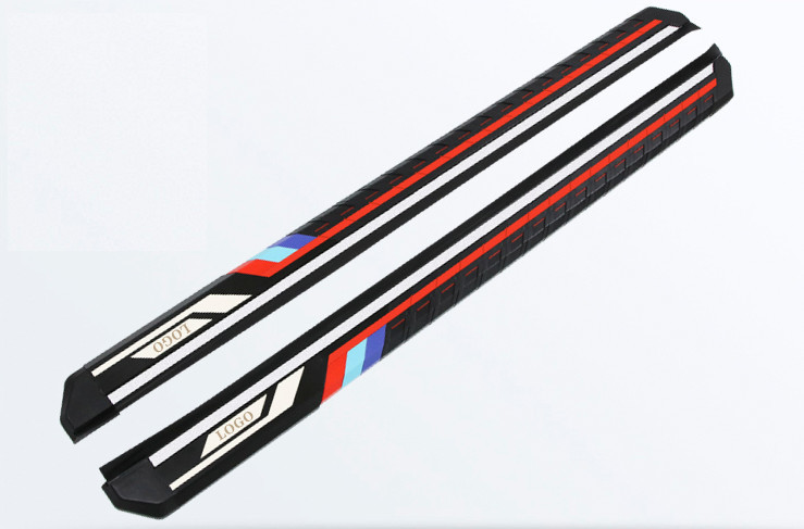 Боковые подножки, пороги Jiayitian BMW Style CHN для КИА Селтос (KIA Seltos) 2020 накладки на внутренние и внешние дверные пороги chn для киа селтос kia seltos 2020