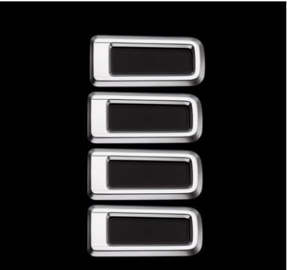 Накладки на потолочные воздуховоды (серебро) для GAC Trumpchi GS8 2018, 2019, 2020 накладки на внешние дверные ручки разные цвета chn для gac trumpchi gs8 2018 2019 2020