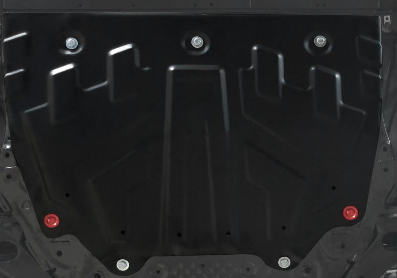 Защита картера и КПП, сталь АВТОБРОНЯ Mazda CX-5 2012 - защита ford kuga 2013 1 6 картера и кпп штамповка