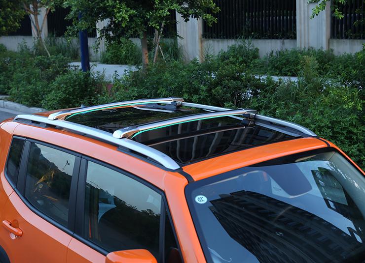 Багажные дуги, поперечины на крышу CHN для Jeep Renegade 2015, 2016, 2017, 2018, 2019