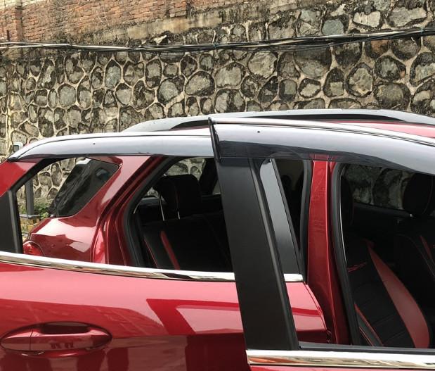 накладки на дверные пороги надписи ecosport для ford ecosport 2018 Дефлекторы окон (светлые) для Ford Ecosport 2018 -