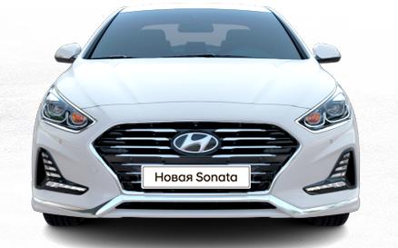 Радиаторная решетка штатная HYUNDAI для Hyundai Sonata 2017 -