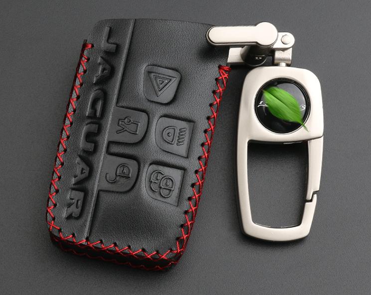 Чехол для ключа кожаный CHN для Jaguar E-Pace 2017 - комплект стационарных боковых подножек ступенек j9c6615 для jaguar e pace 2017