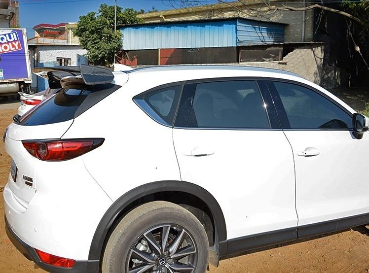 Карбоновый спойлер багажной двери для MAZDA CX-5 2017 спойлер крышки багажника карбоновый kor для hyundai elantra 2016