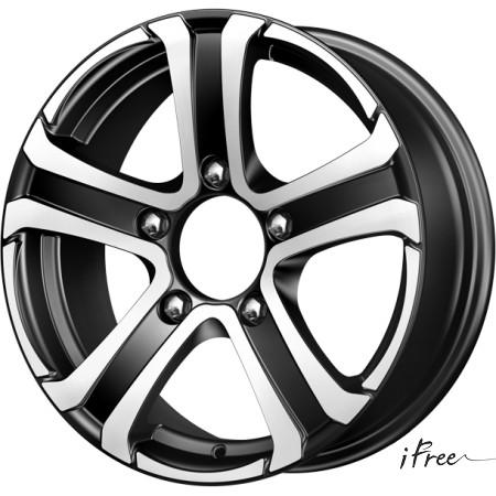 Диск колесный Tech-Line 632 6.5xR16 5x108 ЕТ52.5 ЦО63.4 серебристый T632-6516-634-5x108-525S