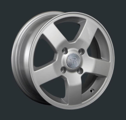 Диск колесный LS Replay KI57 6xR15 4x100 ET48 ЦО54.1 серебристый S020397