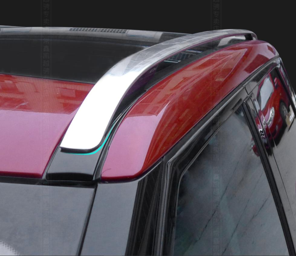 Рейлинги на крышу, штатные для Land Rover Range Rover Evoque 2015 - защита картера и кпп алюминиевая rival для land rover range rover evoque 2011