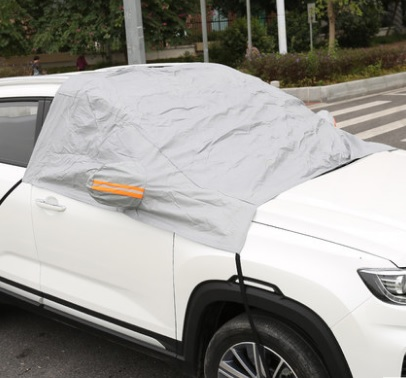 Фото - Чехол-тент для лобового стекла Changan CS35 Plus 2019- коврик для багажника черный с красным 2 элемента для changan cs35 plus 2019