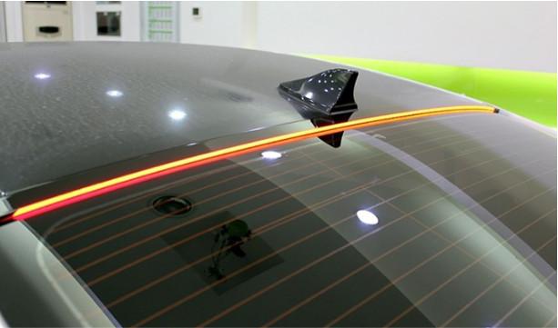 Накладка светодиодная на козырек заднего стекла (стоп-сигнал, разный комплект) CHN для Hyundai Sonata 2017 - комплект задних светодиодных стоп сигналов chn для hyundai sonata 2017
