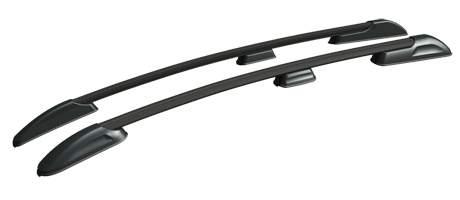Рейлинги (черный) APS 0253-02 Mazda 3 2003-2009 рейлинги черный aps 0257 02 mazda cx 5 2011 2017