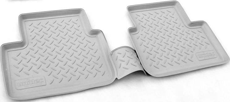 Коврики в салон Норпласт полиуретан серый NPA01C61605Grey Nissan Qashqai (2G) 2013-