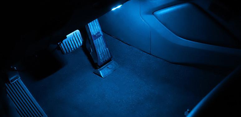 Подсветка зоны ног для Hyundai Tucson (2015- по н.в. )