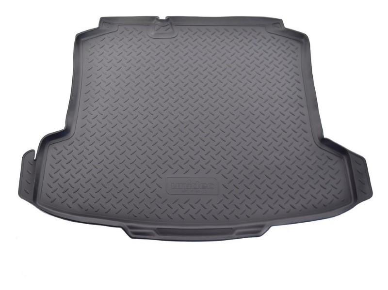 Коврик багажника (полиуретан), чёрный SD Norplast NPL-P-95-42 для Volkswagen Passat 2011-2015 коврик багажника norplast npl p 22 13 черный