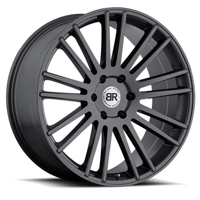 Диск колесный Black Rhino Kruger 10xR24 5x150 ET30 ЦО110,1 серый темный глянцевый 2410KRG305150G10 недорого
