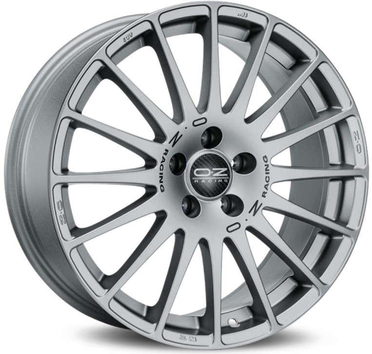 Диск колесный OZ Superturismo GT 7,5xR17 5x112 ET50 ЦО75 серебристый W01681251P5