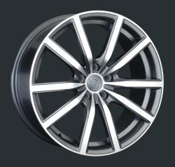 Диск колесный LS Replay JG1 8xR18 5x108 ET49 ЦО63.4 серый глянцевый с полированной лицевой частью 826750