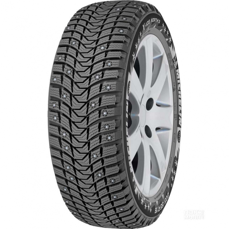 Шина автомобильная Michelin X- Ice North 3 255/35 R19 зимняя, шипованная, 96H