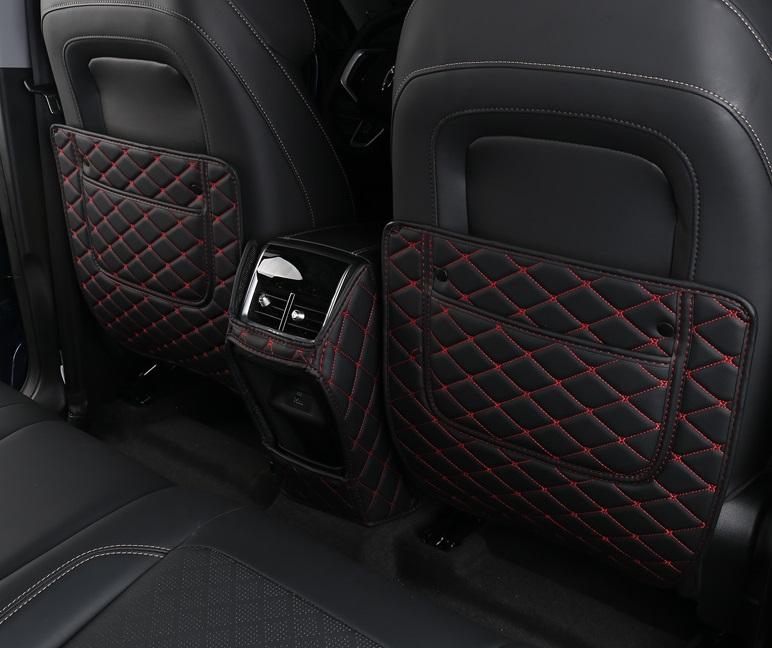 Фото - Противоударные накладки на сиденье красные (без логотипа) 3 элемента Chery Tiggo 7 Pro 2020 декоративные салонные накладки для chery tiggo 5 t21