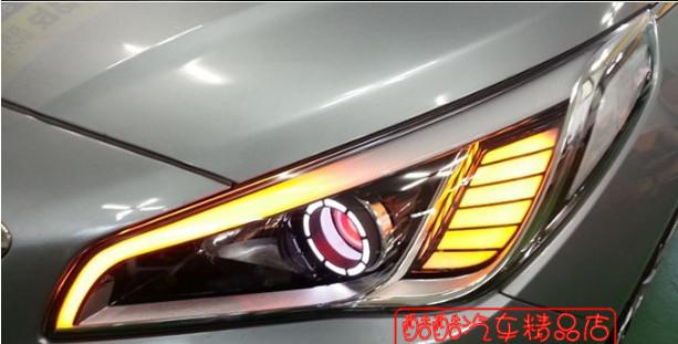 Ангельские глазки (форма 1) CHN для Hyundai Sonata 2017 - ангельские глазки форма 2 chn для hyundai sonata 2017