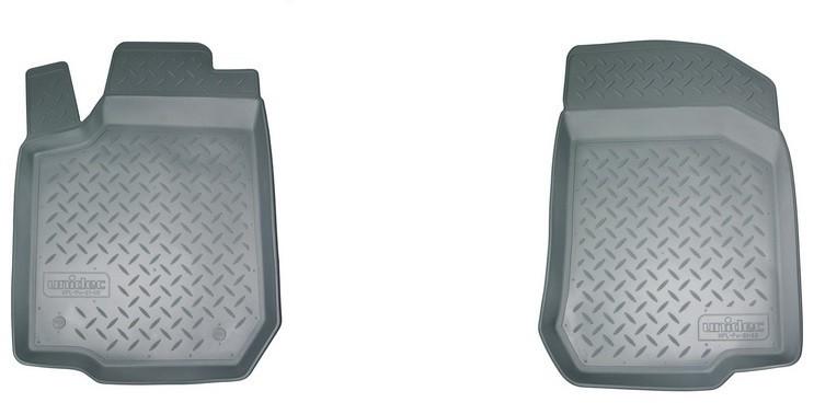 Коврики в салон Норпласт полиуретан серый NPA10C61604Grey Nissan Qashqai (2G) 2013-