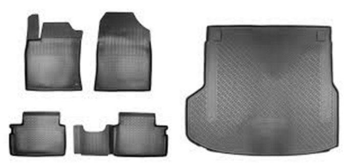 Коврики в багажник Hyundai/Kia резина серый R8130J7400P Kia XCeed 2020- недорого