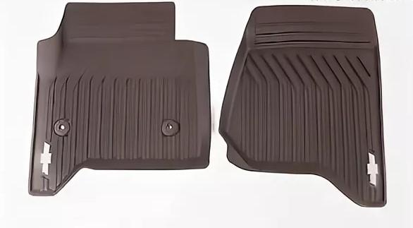 Коврики салона передние (резиновые, Cacao) 23452759 для Chevrolet Tahoe IV 2015- коврики салона резиновые 5nb06150082v для volkswagen tiguan 2017