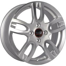 Диск колесный LegeArtis Реплика NS165 6xR15 4x100 ET50 ЦО60.1 серебристый с полированной лицевой частью 9167803
