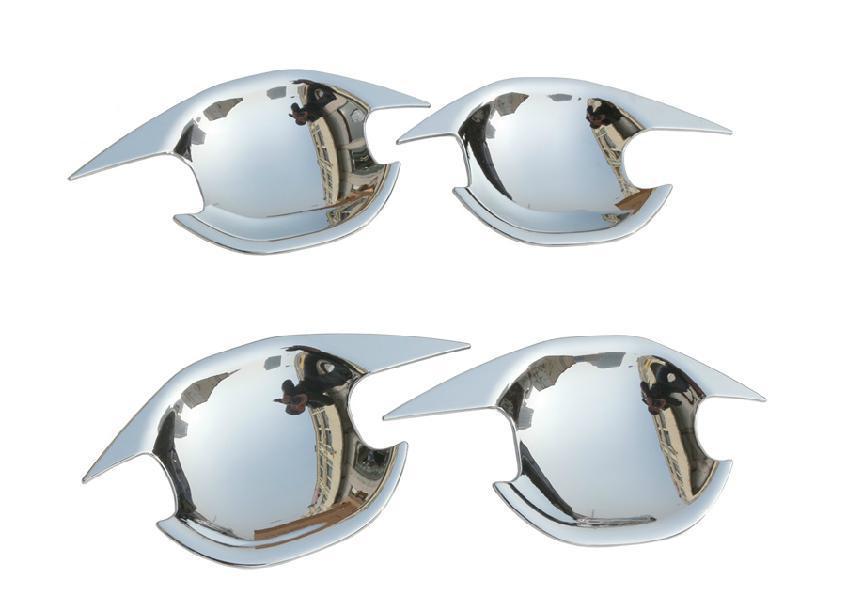декоративные накладки замки колпачки xhn mitsubishi outlander 2012 Накладки под ручки для Mitsubishi Outlander 2012 - 2018