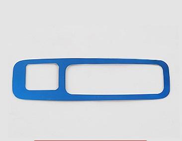 Фото - Накладка на ручку багажника синяя для Honda C-RV 2017- накладка на порог багажника для honda crv 2017