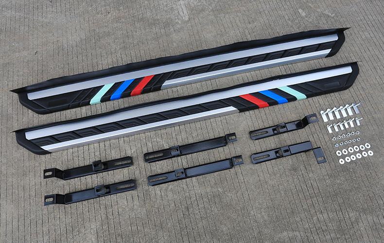 Боковые подножки, пороги BMW Style для Haval F7 (Хавал Ф7) 2018, 2019, 2020 недорого