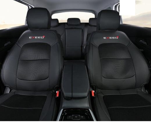 Чехлы на сидения (черные) CHERYEXEED TXL 2020-