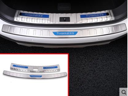 Фото - Накладки на порог багажника (хром) для GAC Trumpchi GS5 2020- цифровой спидометр проекция на лобовое стекло chn для gac trumpchi gs8 2018 2019 2020