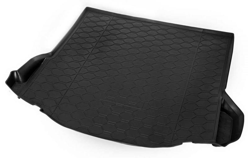 Коврики в багажник Rival полиуретан черный 11801004 Ford Focus (3G) 2011-, рест. 2014- коврик багажника rival для ford focus iii седан 2011 2019 полиуретан 11801004