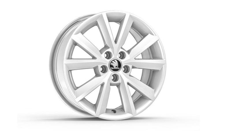 Диск колесный R16 Antia (белый) 5JA071496FM9 для Skoda Rapid 2020 - колесный диск r16 52910f2200 для hyundai elantra 2016