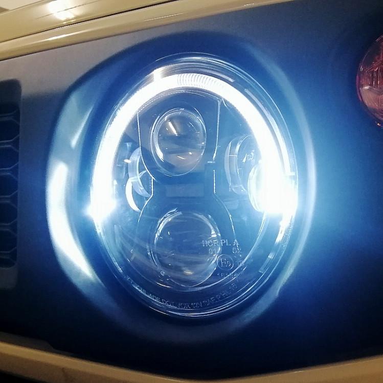 Фото - Передние светодиодные фары (оптика) для Suzuki Jimny 2019 - оптика