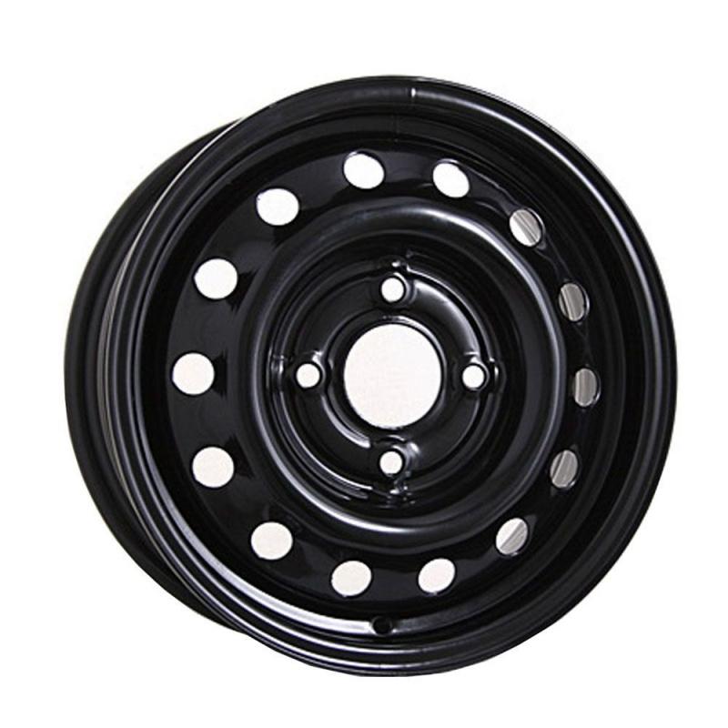 Диск колесный ТЗСК 451 6xR15 5x105 ЕТ39 ЦО56.6 черный глянец 00000000451
